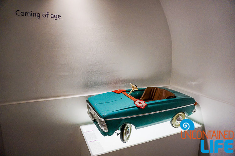 Toy Car, Best Museum in Zagreb, Croatia, Uncontained Life