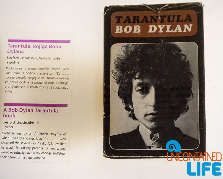 Tarantula, Bob Dylan, Best Museum in Zagreb, Croatia, Uncontained Life