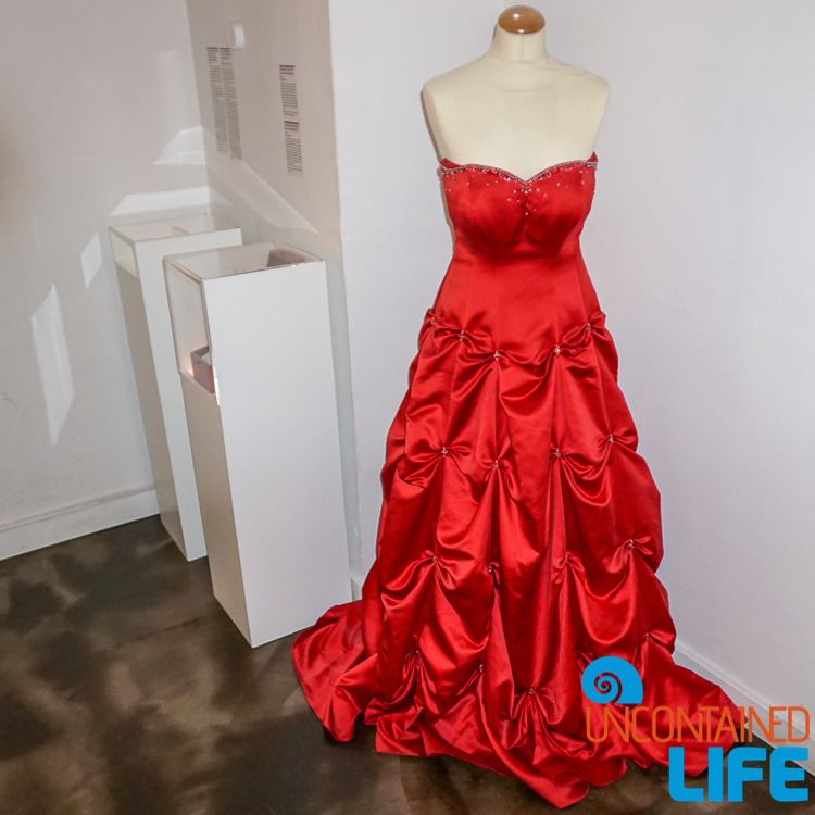 Red Gown, Best Museum in Zagreb, Croatia, Uncontained Life