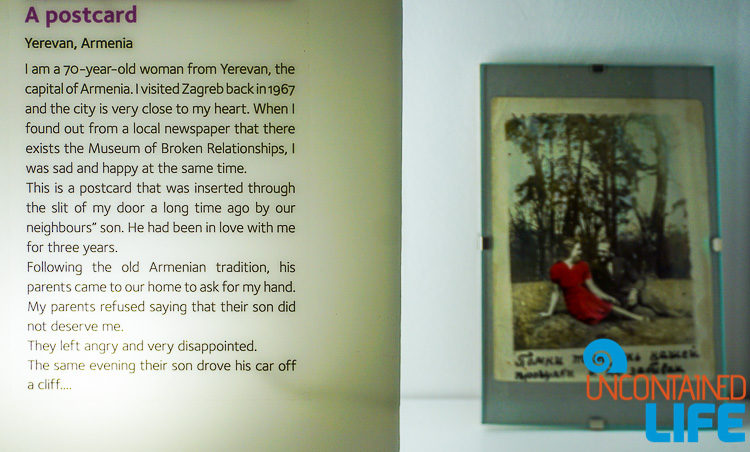 Postcard from Armenia, Best Museum in Zagreb, Croatia, Uncontained Life