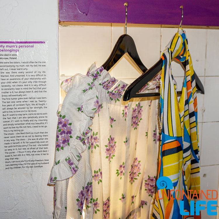 Mom's Dresses, Best Museum in Zagreb, Croatia, Uncontained Life