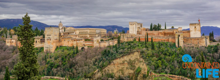 Visit the Alhambra, Granada, Spain, Uncontained Life