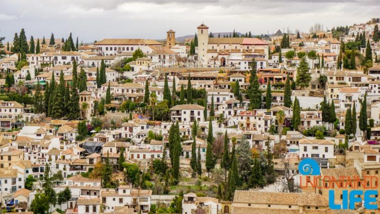 View, Visit the Alhambra, Granada, Spain, Uncontained Life