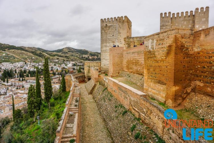 Exterior Wall, Visit the Alhambra, Granada, Spain, Uncontained Life