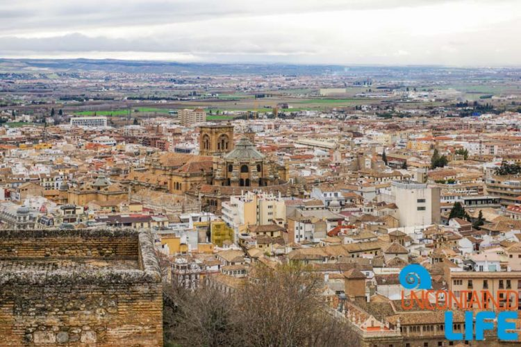 Granada Cathedral, Visit the Alhambra, Granada, Spain, Uncontained Life