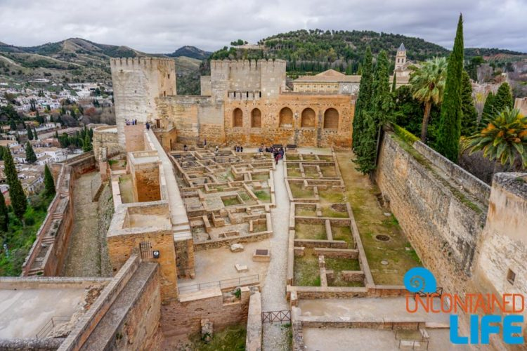 Arms Square, Visit the Alhambra, Granada, Spain, Uncontained Life