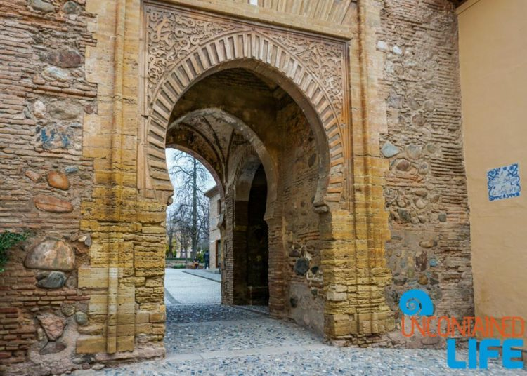 Entrance, Visit the Alhambra, Granada, Spain, Uncontained Life