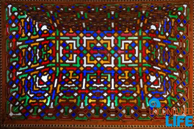 Stained Glass, Nasrid Palaces, Visit the Alhambra, Granada, Spain, Uncontained Life