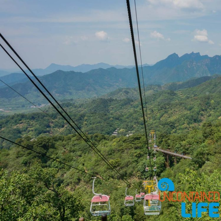 Chair Lifts, Great Wall of China, Uncontained Life