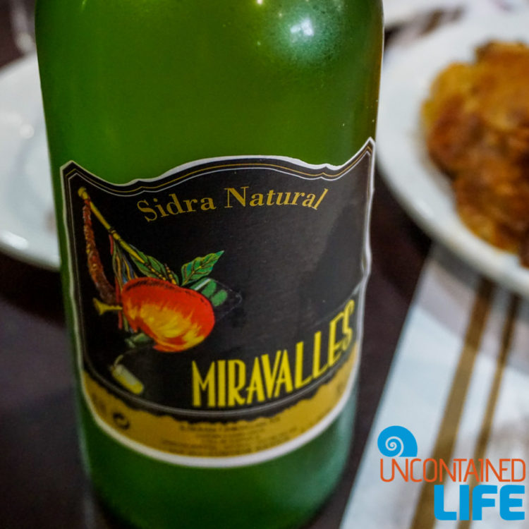 Sidra Natural, Spanish Cider, Madrid, Spain, Uncontained Life
