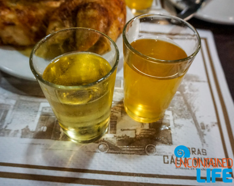 Sweet and Natural, Spanish Cider, Madrid, Spain, Uncontained Life