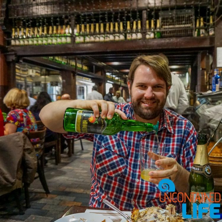 Spanish Cider, Madrid, Spain, Uncontained Life