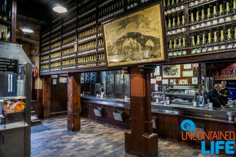Casa Mingo, Spanish Cider, Madrid, Spain, Uncontained Life