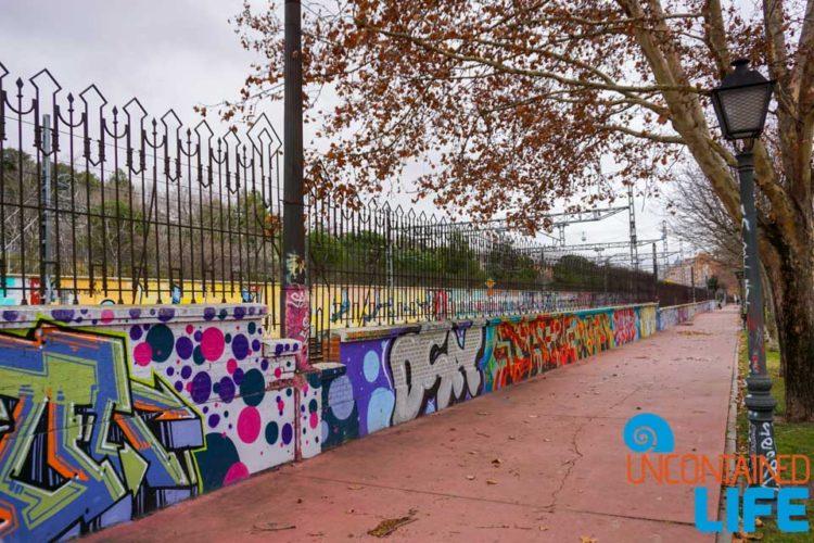 Street Art, Spanish Cider, Madrid, Spain, Uncontained Life