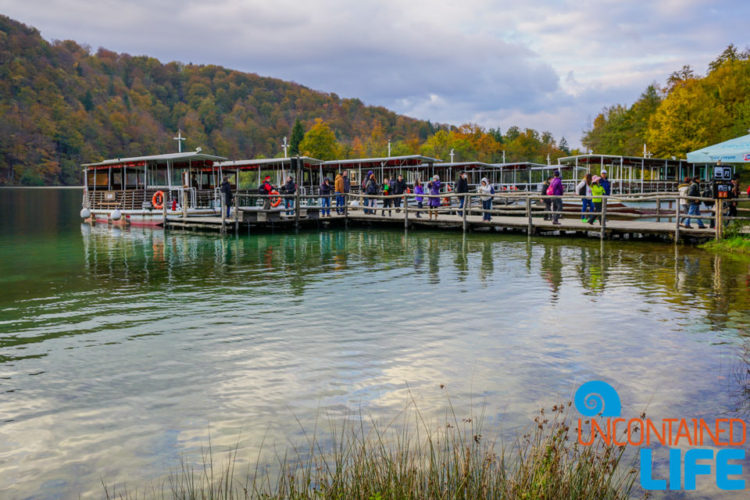 Dock, Ferry, Visit Plitvice Lakes National Park, Croatia, Uncontained Life