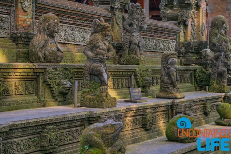 Temple, Sacred Monkey Forest Sanctuary, Ubud, Bali, Indonesia, Uncontained Life