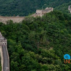Visit the Great Wall of China, Mutianyu, Rain, Video, Uncontained Life