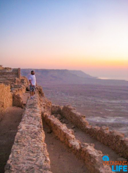 Sunrise, Masada Snake Path, Israel, Uncontained Life
