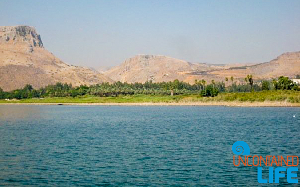 Sea of Galilee, Masada Snake Path, Israel, Uncontained Life