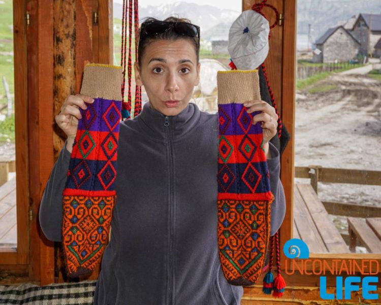 Wool Socks, Visit Lukomir, Bosnia & Herzegovina, Uncontained Life