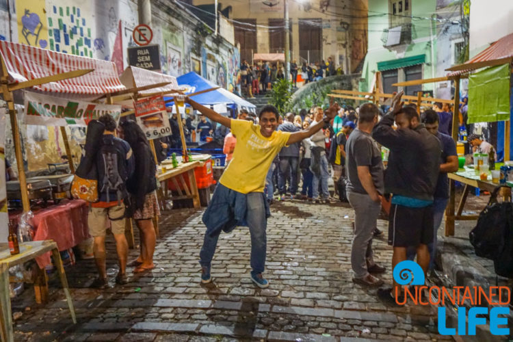 safety in Rio de Janerio, Brazil, Uncontained Life