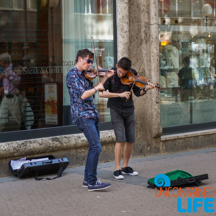 Street Musicians, Street Performers, Cest is d' Best, Visit Zagreb, Croatia, Uncontained Life