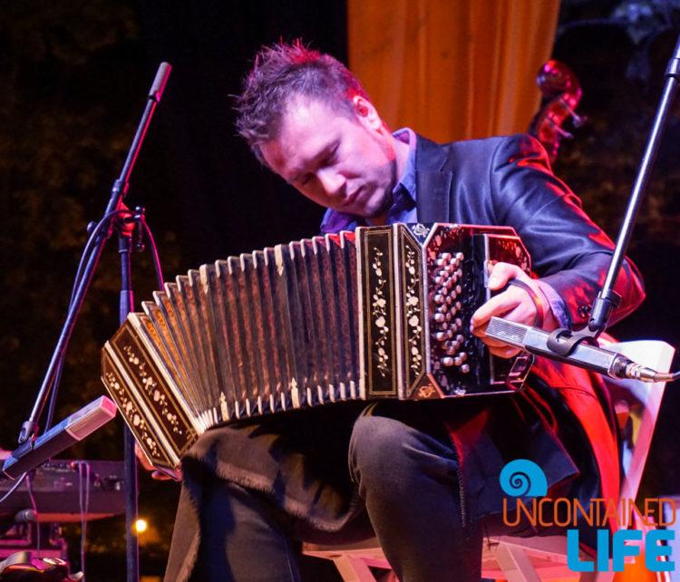 Accordian Musician, Visit Zagreb, Croatia, Uncontained Life
