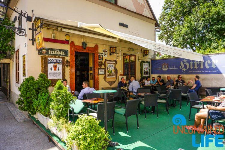 Pub, Visit Zagreb, Croatia, Uncontained Life