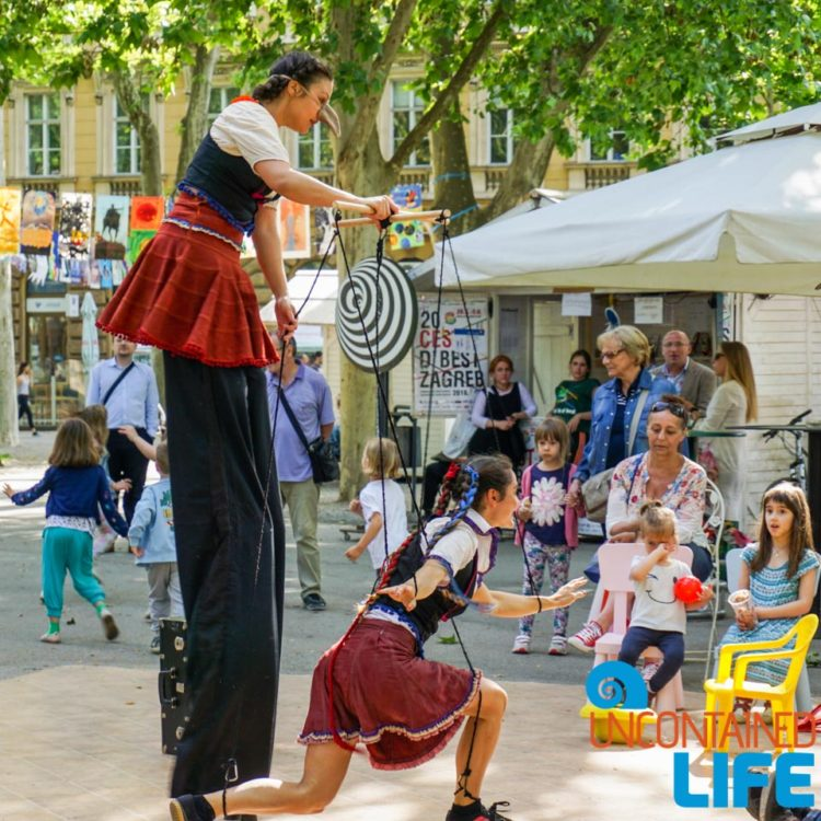 Street Performers, Cest is d' Best, Visit Zagreb, Croatia, Uncontained Life