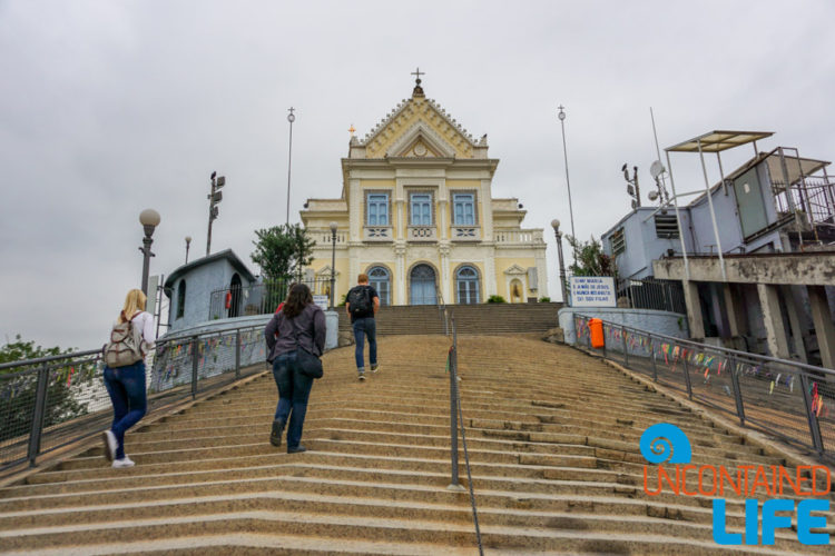 Church of Our Lady of Penha de France, visiting favelas in Rio de Janeiro, Brazil, Uncontained Life