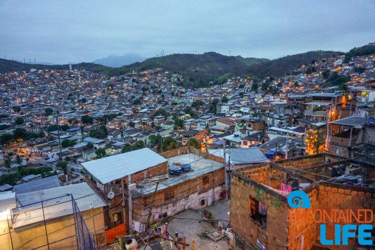 Visiting favelas in Rio de Janeiro, Brazil, Uncontained Life