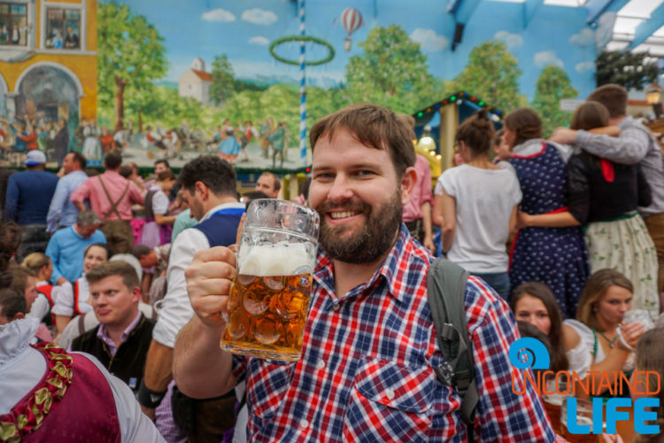 Mass, Beer, Celebrate Oktoberfest, Munich, Germany, Uncontained Life
