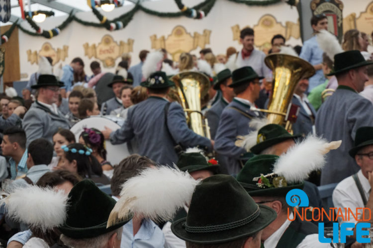 Ein Prosit, Drinking Song, Celebrate Oktoberfest, Munich, Germany, Uncontained Life