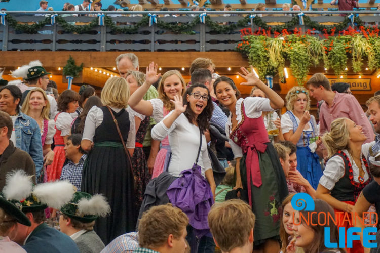Ladies, Celebrate Oktoberfest, Munich, Germany, Uncontained Life