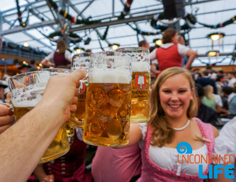 Prost, Beer, Celebrate Oktoberfest, Munich, Germany, Uncontained Life