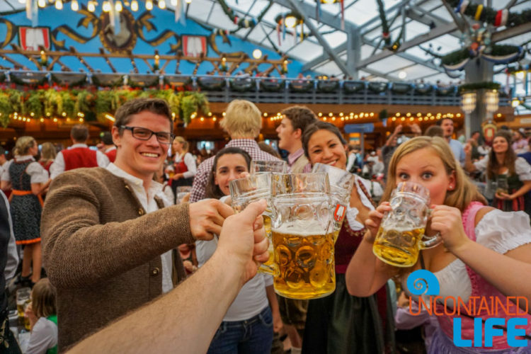 Prost, Celebrate Oktoberfest, Munich, Germany, Uncontained Life