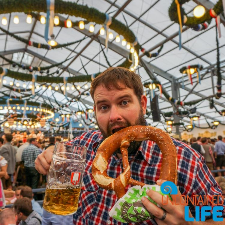 Pretzel, Celebrate Oktoberfest, Munich, Germany, Uncontained Life