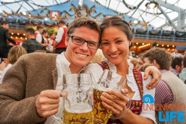 Celebrate Oktoberfest, Munich, Germany, Uncontained Life