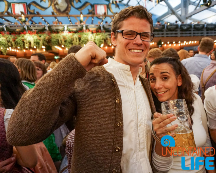 Beer, Prost, Celebrate Oktoberfest, Munich, Germany, Uncontained Life