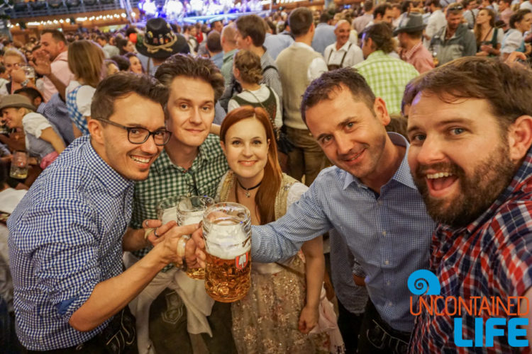 Make Friends, Celebrate Oktoberfest, Munich, Germany, Uncontained Life