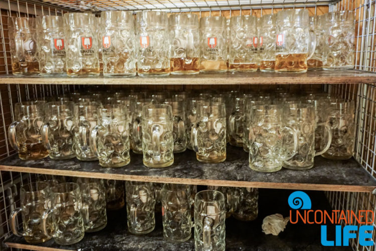 Beer Steins, Celebrate Oktoberfest, Munich, Germany, Uncontained Life