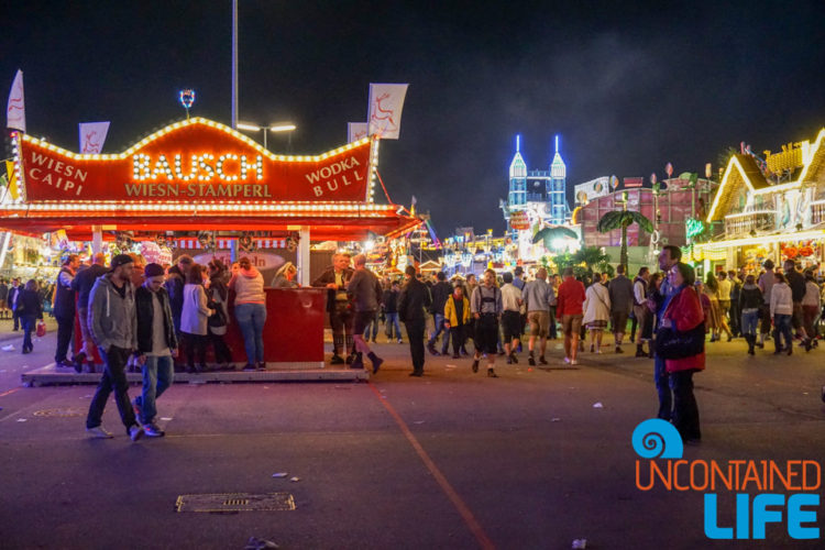 Fairgrounds, Celebrate Oktoberfest, Munich, Germany, Uncontained Life