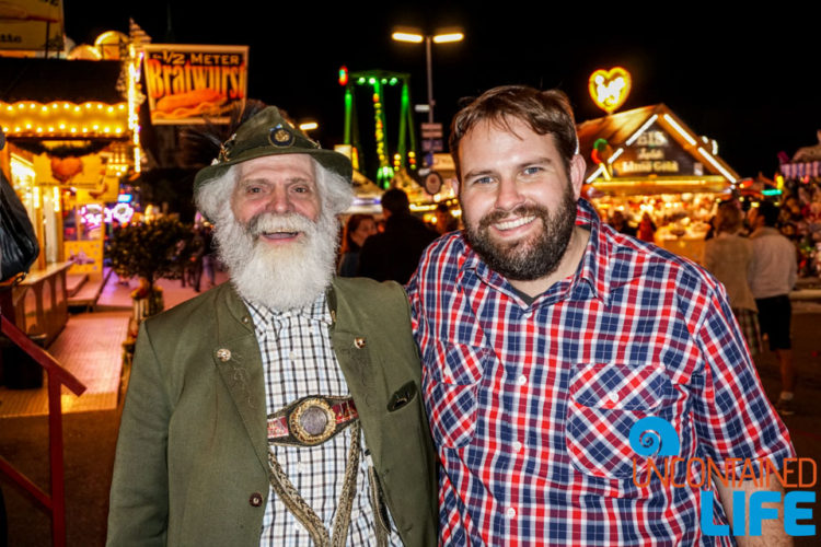 New Friends, Celebrate Oktoberfest, Munich, Germany, Uncontained Life