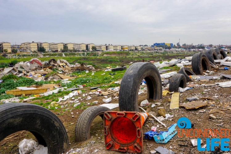 Dump, Campamento, Santiago, Maipu, Chile, Uncontained Life