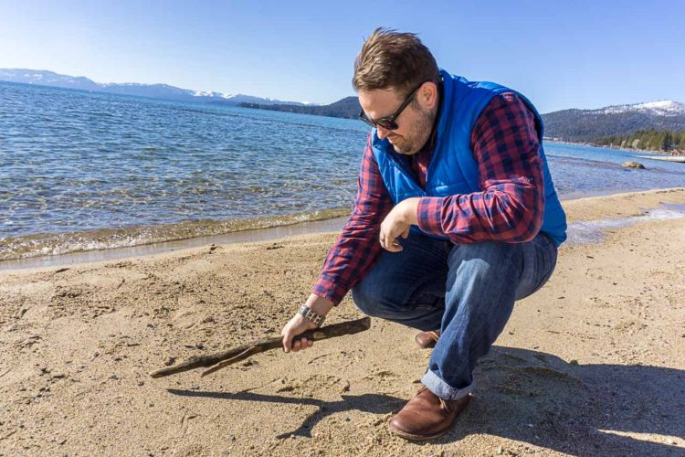 road trip to Lake Tahoe, Uncontained Life, Leatherman, TREAD