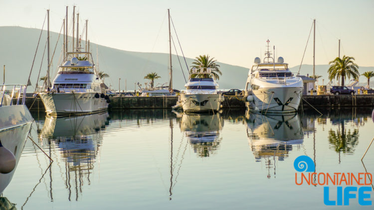 Yachts, Things to do in Tivat, Montenegro, Uncontained Life