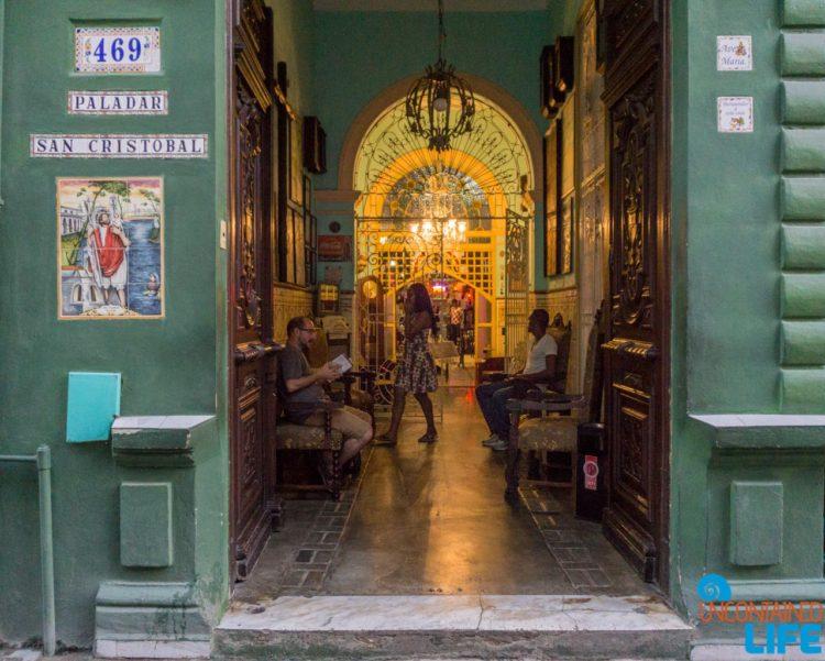 Paladar, San Cristobol, Americans visiting Havana, Cuba, Uncontained Life