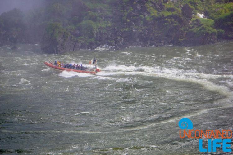 Boat Tour, Iguazu Falls, Brazil, Uncontained Life