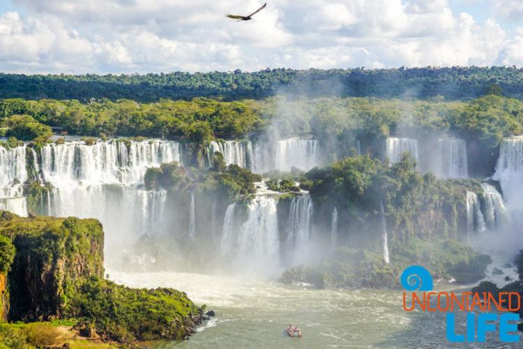 Boat Rides, Iguazu Falls, Brazil, Uncontained Life