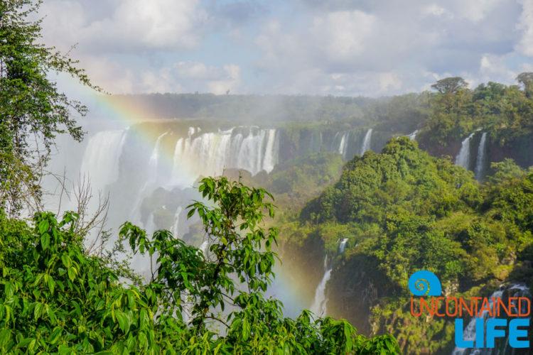 Rainbow, Iguazu Falls, Brazil, Uncontained Life